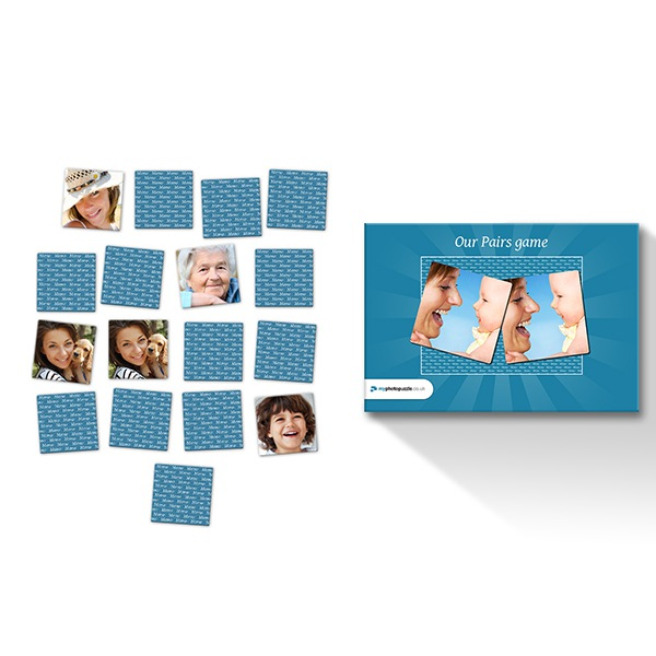 Image of Photo Pairs (72 cards)