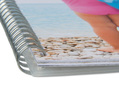 Photo Book with double spiral binding