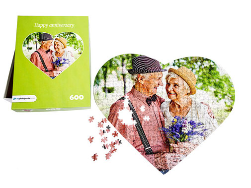 Puzzle box photo puzzle 600 pieces